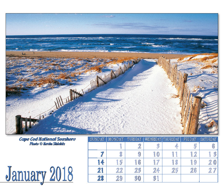 Cape Cod DesktopWall Calendar  Meds Maps Cape Cod